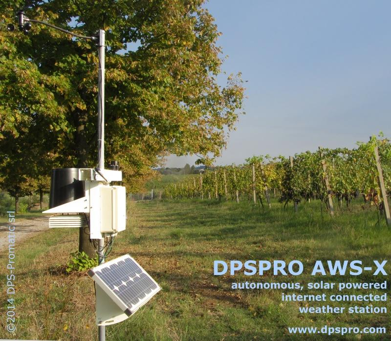 Automatic weather station type AWS-X